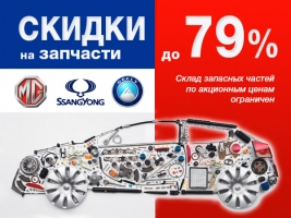 ������ �� �������� ����� Geely, SsangYong, MG ��������� 79%!